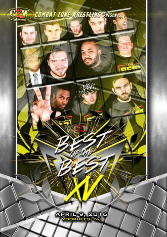 "CZW ""Best of the Best 15"" 4/9/2016 DVD"