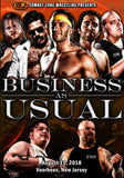 "CZW ""Business As Usual"" 8/11/2018 DVD"