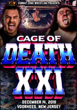 "CZW ""Cage Of Death 21"" 12/14/2019 DVD"