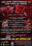 "CZW ""Cage Of Death 20"" 12/9/2018 DVD"