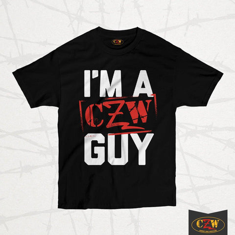 "CZW ""I'm A CZW Guy"" Shirt"
