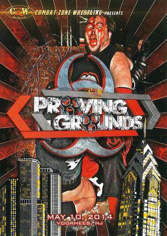 "CZW ""Proving Grounds"" 5/10/2014 DVD"
