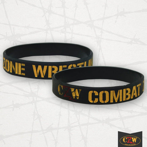 "CZW ""Barbed Wire Logo"" Bracelet"