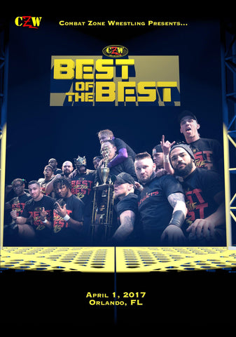 "CZW ""Best of the Best 16"" 4/1/17 DVD"