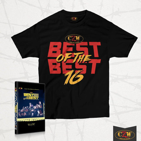 "CZW ""Best of the Best 16"" Shirt + DVD Bundle"