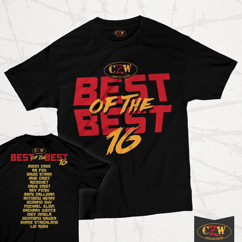 "CZW ""Best of the Best 16"" Shirt"