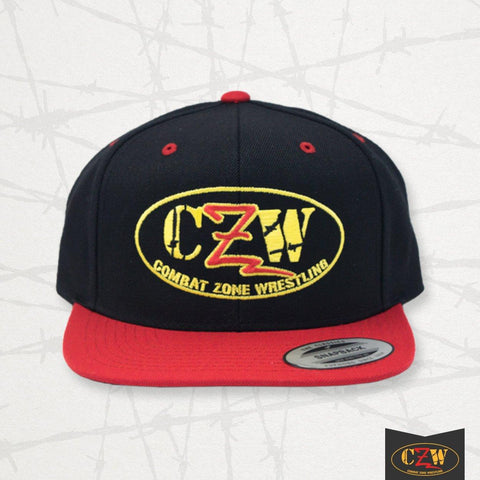 "CZW ""Logo"" Black/Red Snapback"