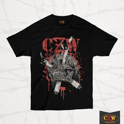 "CZW ""Light Tube Skull"" Shirt"