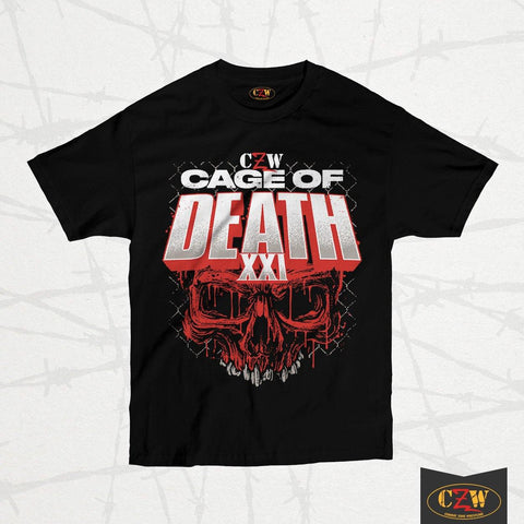 "CZW ""Cage of Death 21"" Shirt"