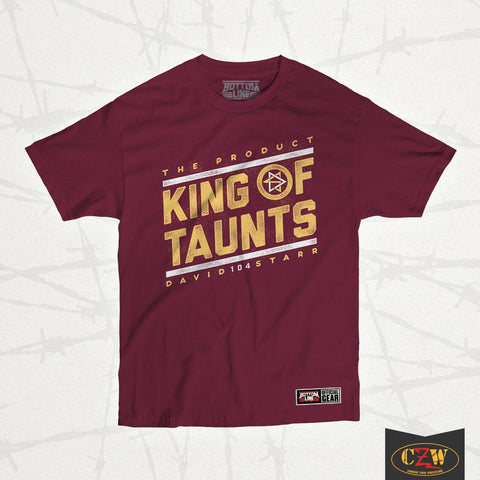 "David Starr ""King of Taunts"" Shirt"