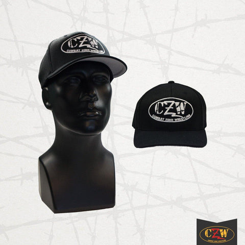 "CZW ""White Logo"" FlexFit Hat"