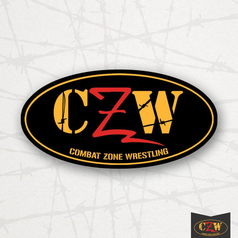 "CZW ""Logo"" Oval Sticker"