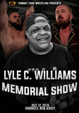 "CZW ""Lyle Memorial Show"" 7/12/2019 DVD"