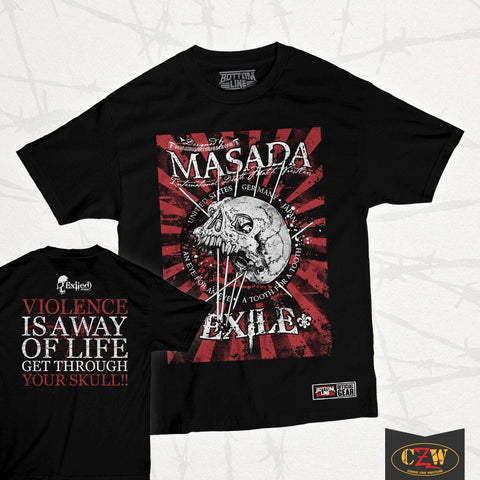 "Masada ""Exhile"" Shirt"