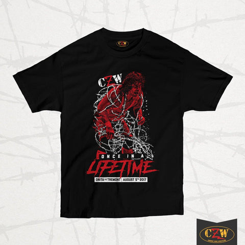 "CZW ""Onita Barbed Wire"" Shirt"