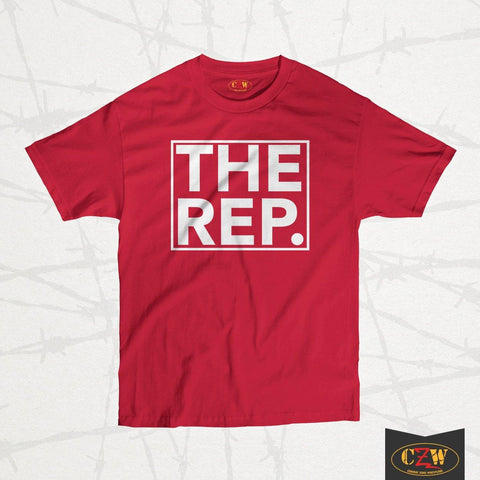 "The Rep ""Period Logo"" Shirt"