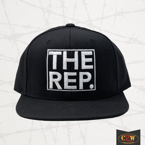 "The Rep ""Period Logo"" Snapback"