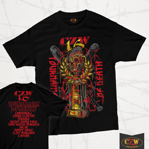 "CZW ""Tournament of Death 16"" Shirt"