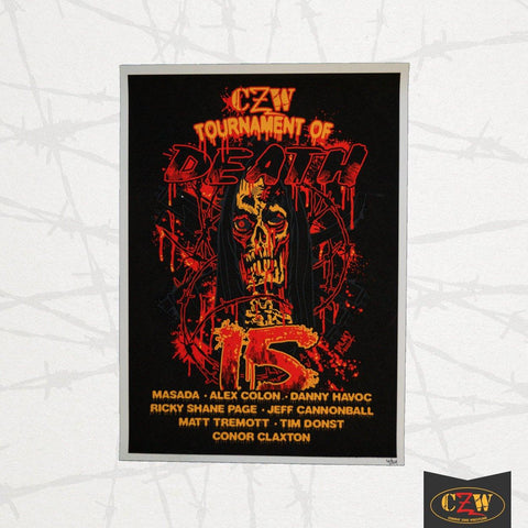 "CZW ""Tournament of Death 15"" Poster"
