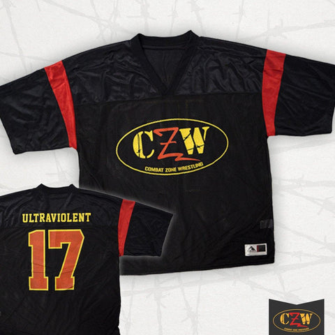 "CZW ""Ultraviolent"" Football Jersey"