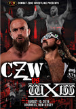 "CZW ""CZW vs. WXW"" 8/10/2019 DVD"