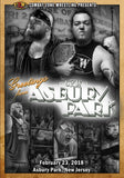 "CZW ""Greetings From Asbury Park"" 2/23/2018 DVD"