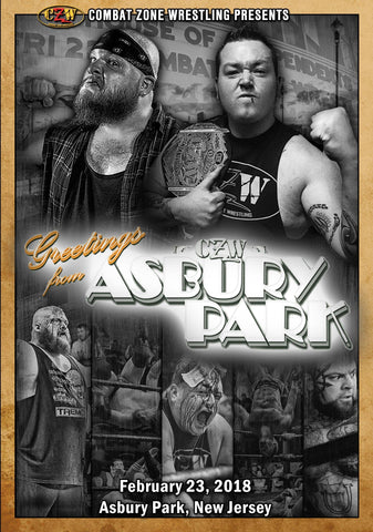 "CZW ""Greetings From Asbury Park"" 02/23/18 DVD"