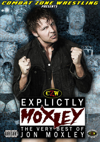 "CZW ""Explicitly Moxley: The Very Best of Jon Moxley"" DVD"