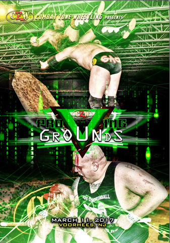 "CZW ""Proving Grounds"" 3/11/2017 DVD"