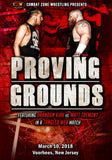 "CZW ""Proving Grounds"" 3/10/2018 DVD"