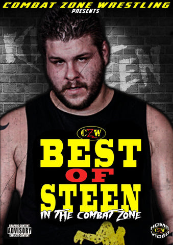 "CZW ""Best of Steen In The Combat Zone"" DVD"