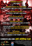"CZW ""Tournament of Death 17"" 6/9/2018 DVD"