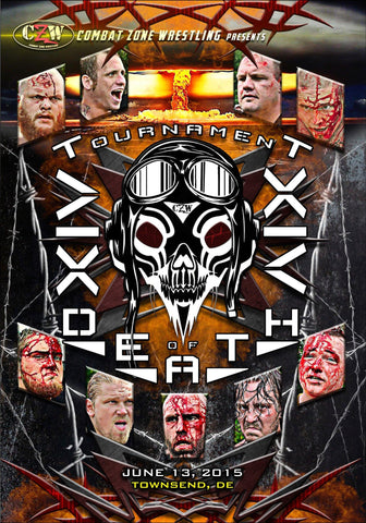 "CZW ""Tournament of Death 14"" 6/13/2015 DVD"
