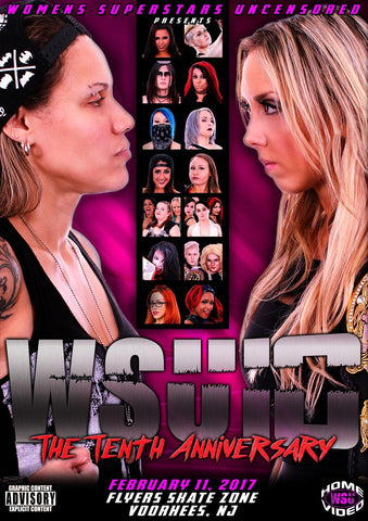 "WSU ""The Tenth Anniversary"" 2/11/2017 DVD"
