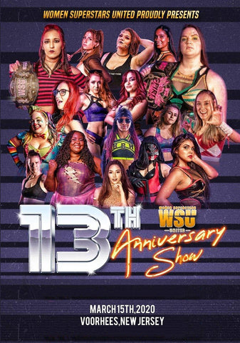 "WSU ""13th Anniversary Show"" 3/15/2020 DVD"