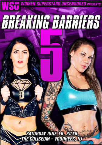 "WSU ""Breaking Barriers 5"" 6/16/2018 DVD"