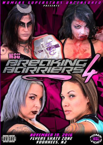 "WSU ""Breaking Barriers 4"" 11/19/2016 DVD"
