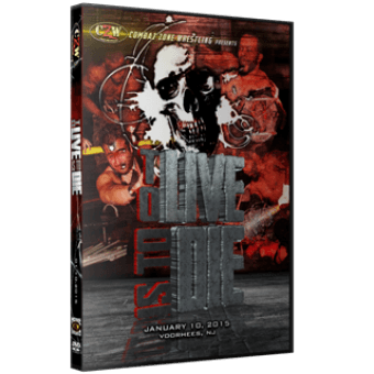 "CZW ""To Live Is To Die"" 1/10/15 DVD"