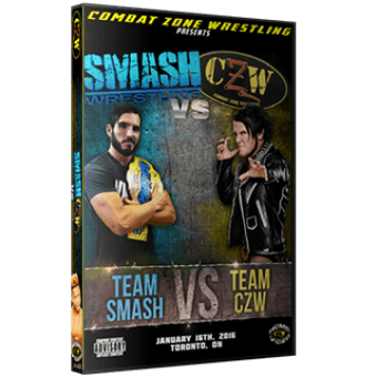 "CZW ""Smash vs. CZW"" 1/16/2016 DVD"