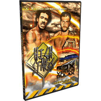 "CZW ""High Stakes 2014"" 3/8/14 DVD"