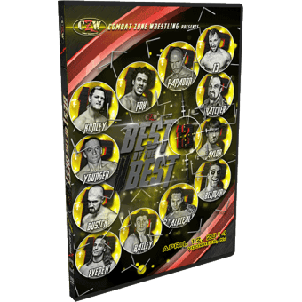 "CZW ""Best of the Best XIII"" 4/12/14 DVD"