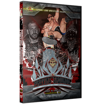 "CZW ""Proving Grounds"" 5/9/15 DVD"