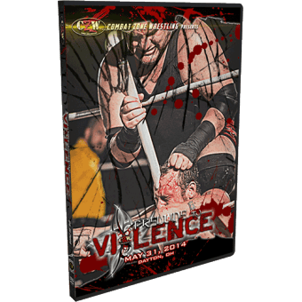 "CZW ""Prelude to Violence 2014"" 5/31/14 DVD"