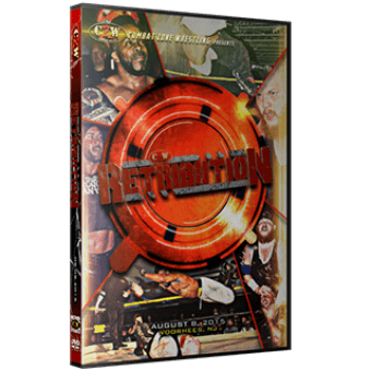 "CZW ""Retribution"" 8/8/15 DVD"