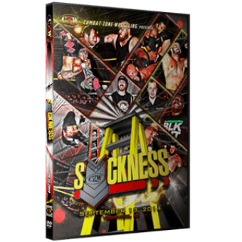 "CZW ""Down With The Sickness 2014"" 9/13/14 DVD"