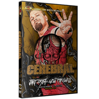 "CZW ""Cerebral"" 11/7/15 DVD"