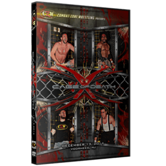 "CZW ""Cage of Death 16"" 12/13/2014 DVD"