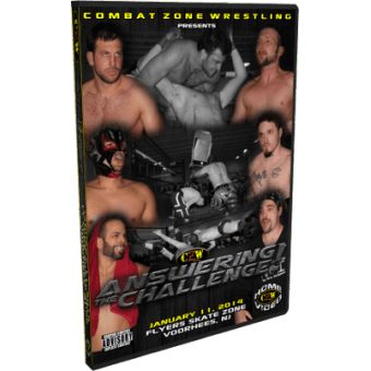 "CZW ""Answering the Challenge"" 1/11/14 DVD"