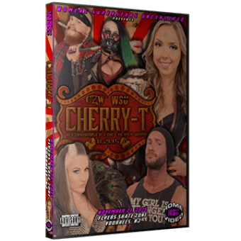 "WSU ""Cherry-T: A Fundraiser for Cherry Bomb"" 11/21/15 DVD"