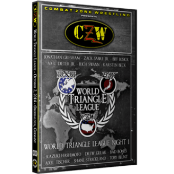 "CZW ""WXW World Triangle League 2014 N1"" 10/2/14 DVD"